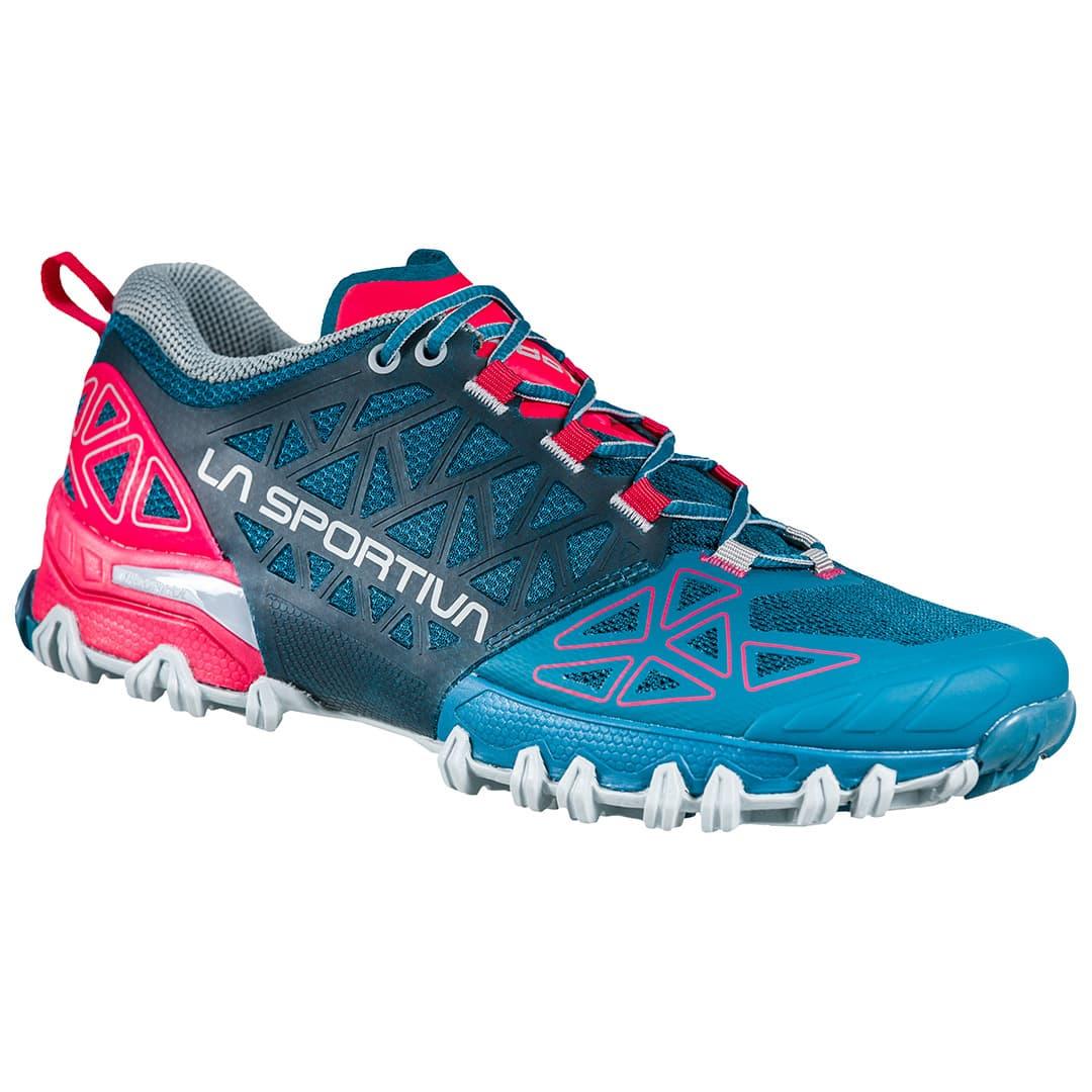 La Sportiva Bushido II Trail Running Damenschuh - Ink/Love Potion, 155,00