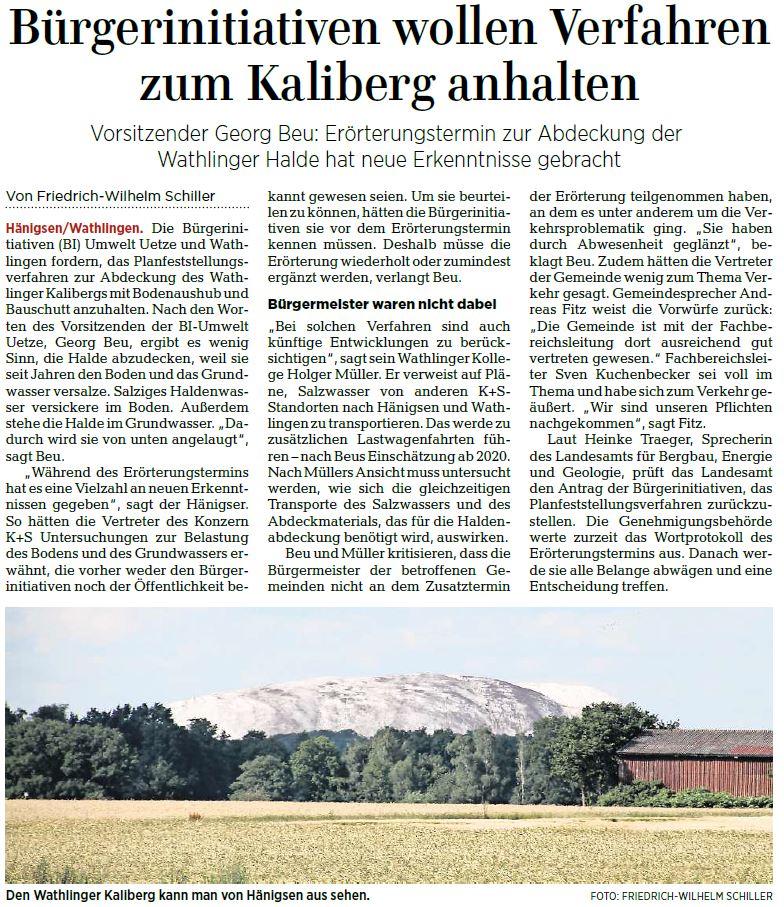 Quelle: Hannoversche Allgemeine Zeitung, 27.02.2019