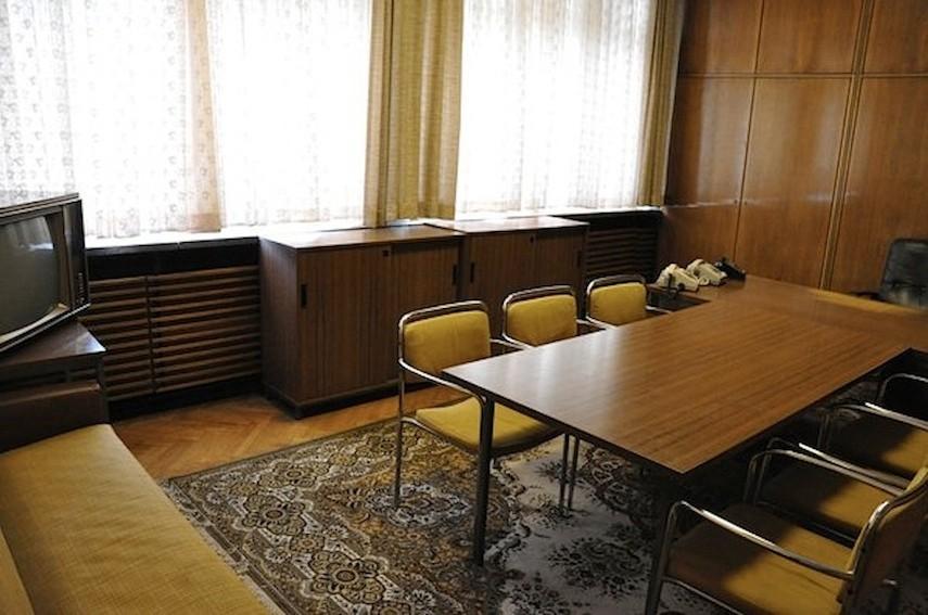 Büro von Generalmajor Hans Carlsohn nach den Restaurierungsarbeiten | Foto: A. Fehse, 2012