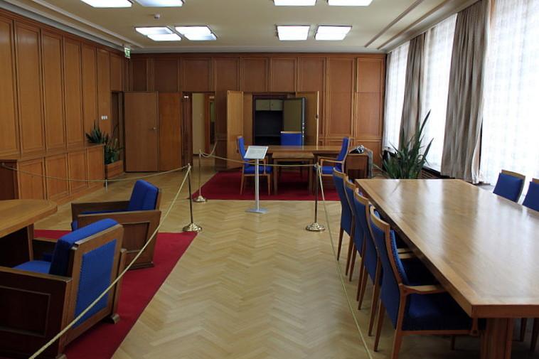 Ministerbüro von Erich Mielke nach den Restaurierungsarbeiten | Foto: A. Fehse, 2012