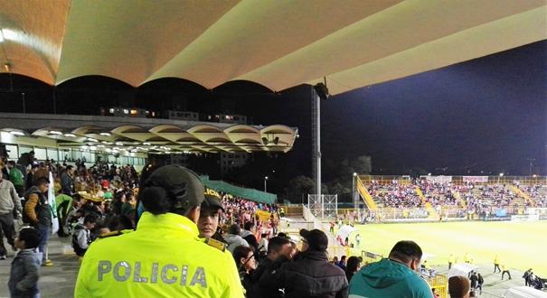 Le Techo accueillait 3 000 spectateurs ce soir-là du 4 février dernier, qui a vu La Equidad battre Junior 1-0