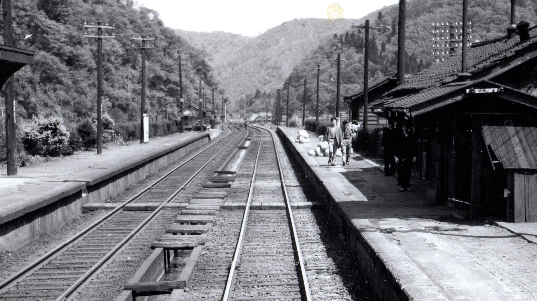 昭和37年当時の大桐駅