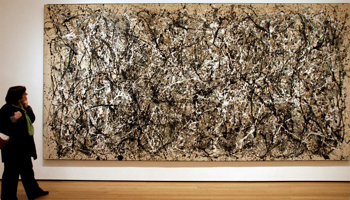 "Jackson Pollock ""Number31"""