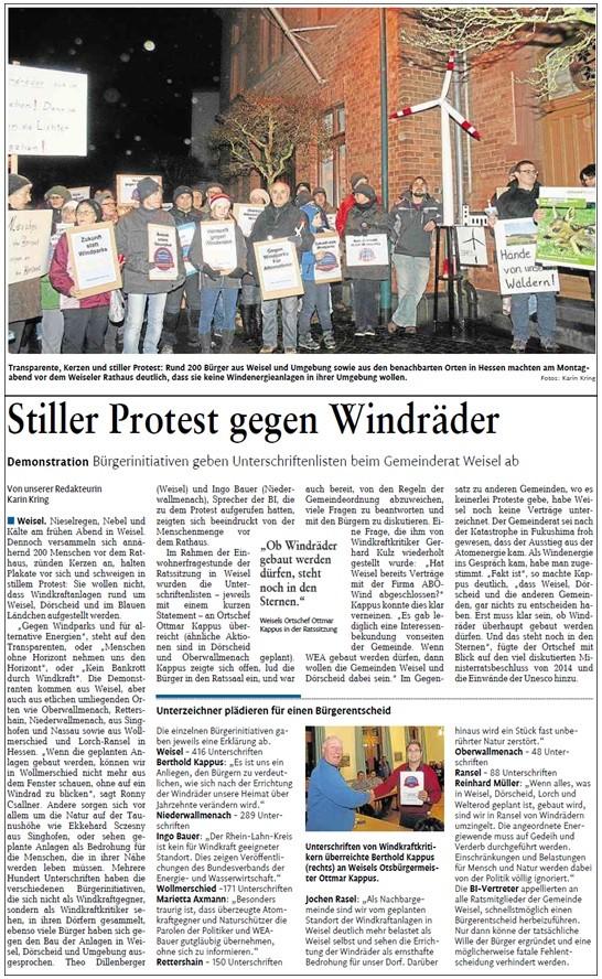 Rhein-Lahn-Zeitung v. 11.02.2015