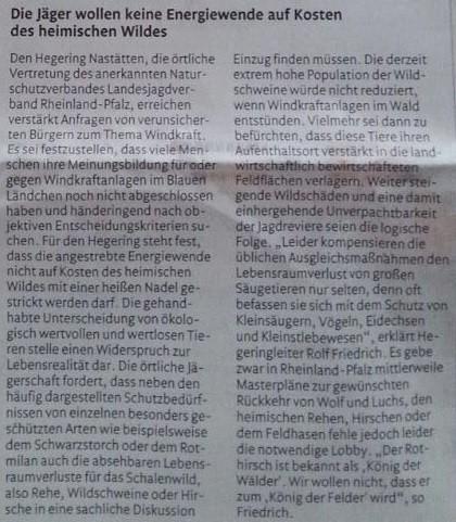 Rhein-Lahn-Zeitung v. 08.05.2015