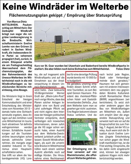 Rhein-Lahn-Post v. 05.08.2015
