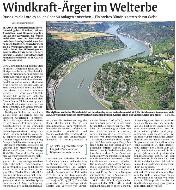 Rheinpfalz v. 01.08.2015