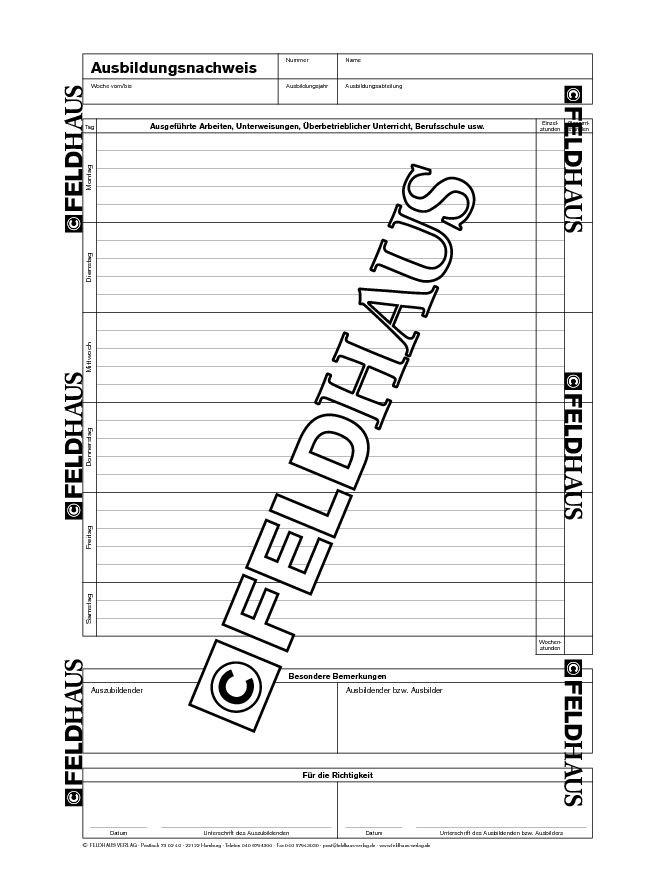 2235 Schneider   Berichtsheft für handwerkliche Ausbildungsberufe