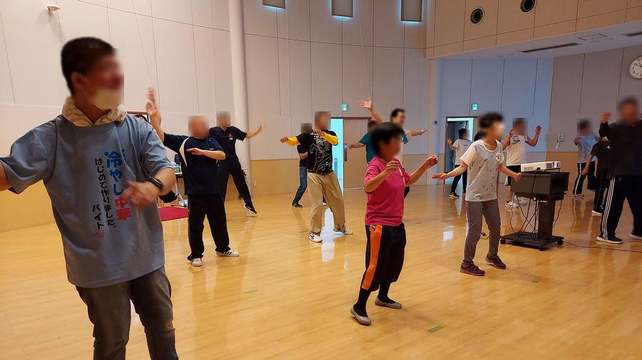 [就業はくあい] 7月交流会 運動不足・ストレス解消のリズム体操
