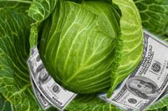 деньги и капуста