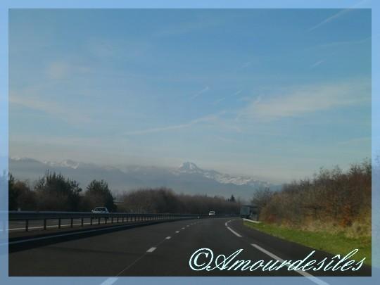 Neige sur les Pyrénées...
