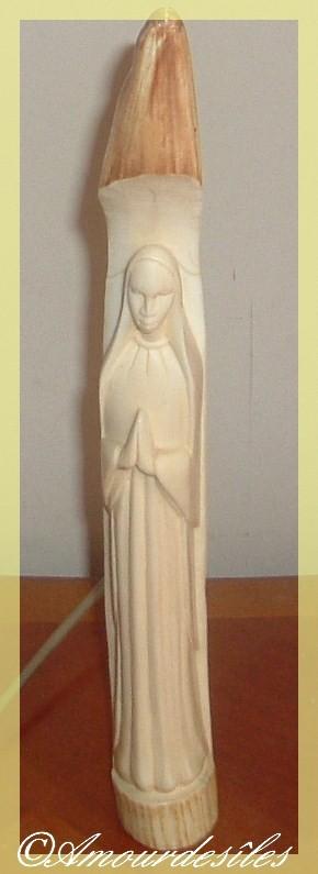 Même Vierge prise en photographie sous un angle différent...