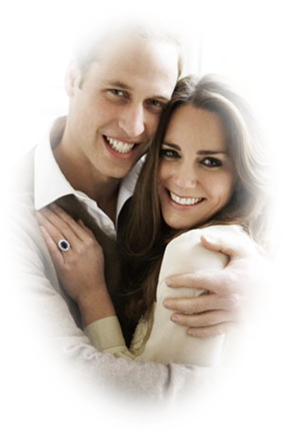 Très beau couple que voilà ! Kate et William !