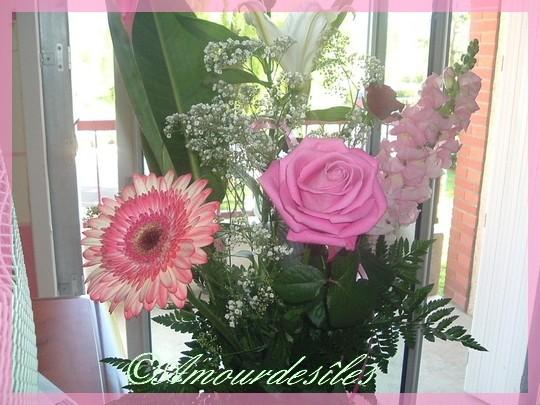 """Bouquet de fleurs...pour les 94 Ans de """"Mamie""""..."""