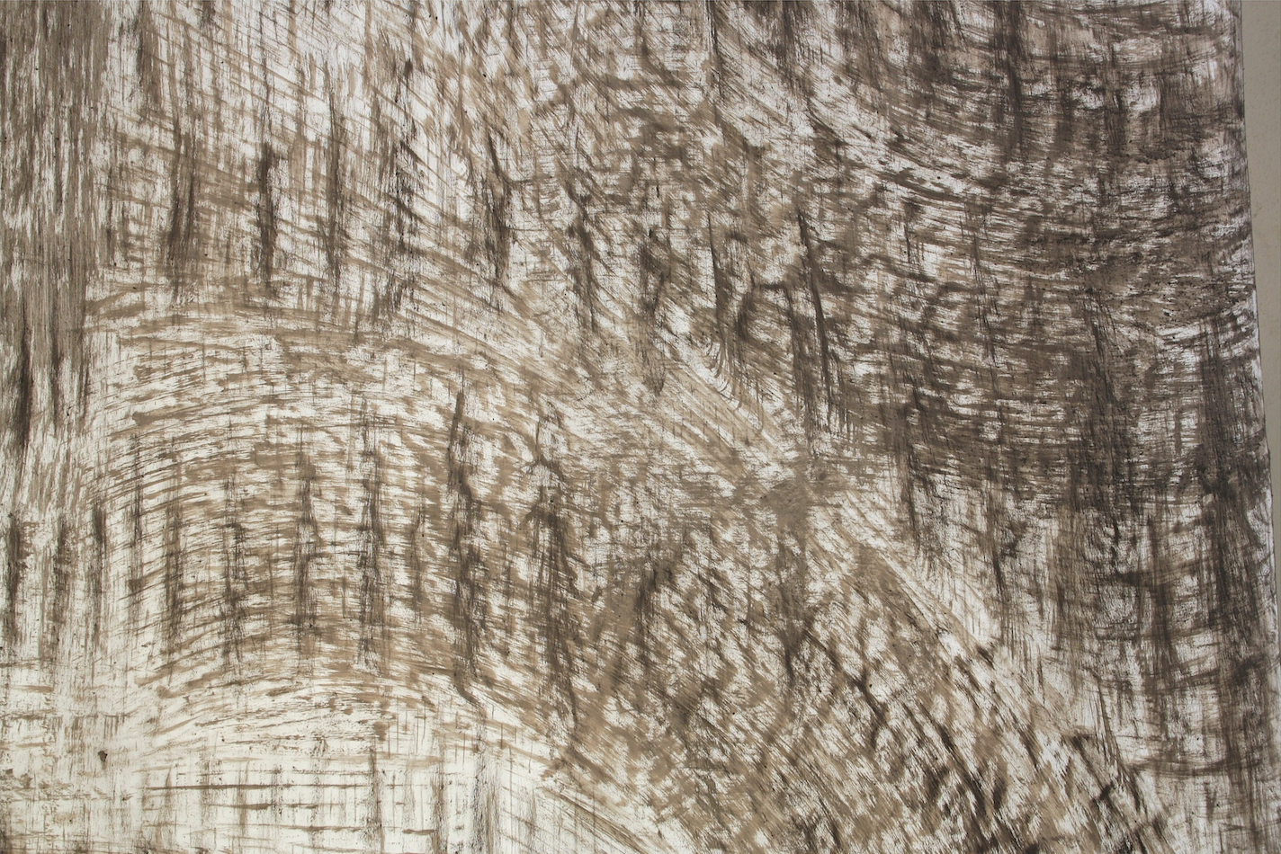 Monosema - 2017 - polyptych - ashes on paper... detail