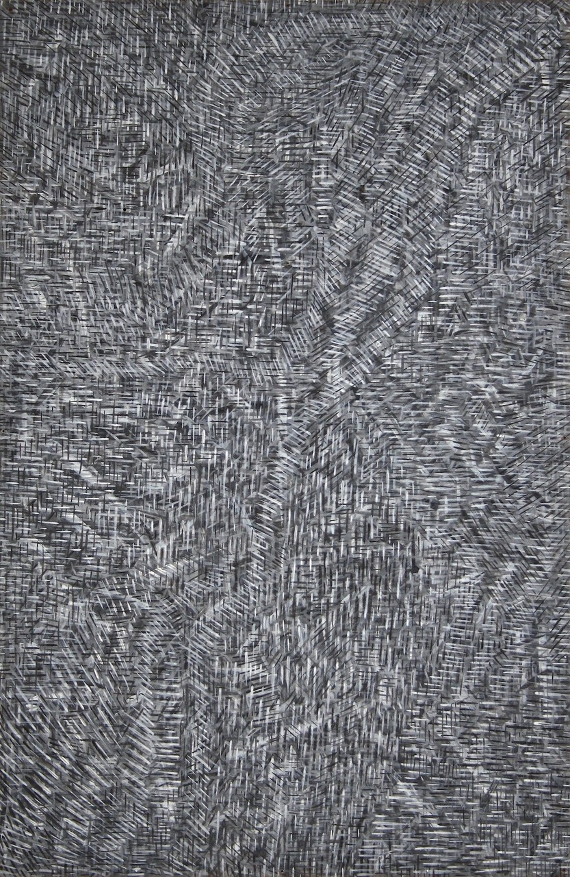 monosema - acrylic on masonite, 117,5 x 77 cm - 2010