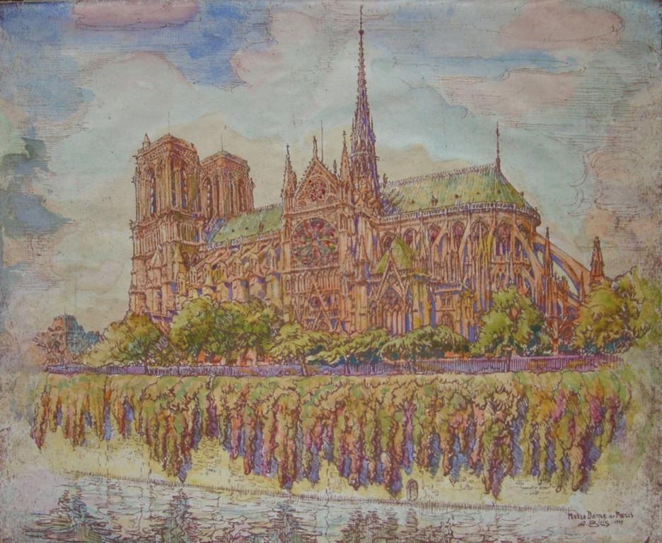 Notre Dame de Paris André Aaron Bilis