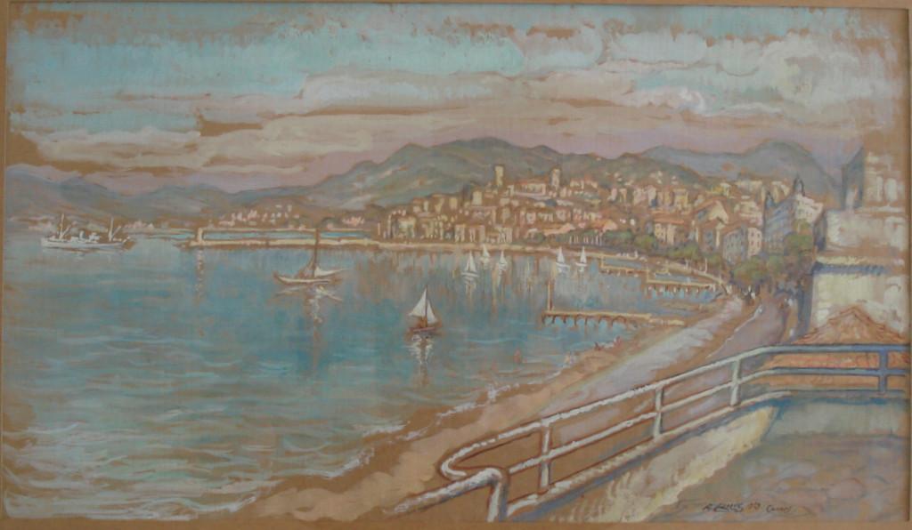 Cannes 1959 André Aaron Bilis