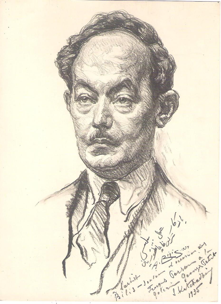 Katchadourian 1934 fusain André Aaron Bilis
