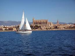 Mallorca vom Wasser aus - hier: la Seu, die Kathedrale von Palma