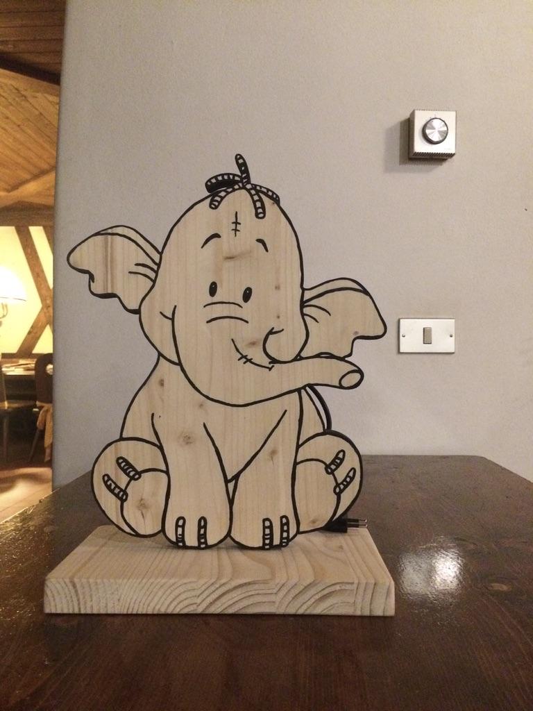 "Lampada ""Efelante"" Winnie the Pooh"