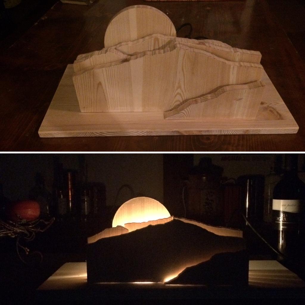 Lampada Monte Cornetto Folgaria