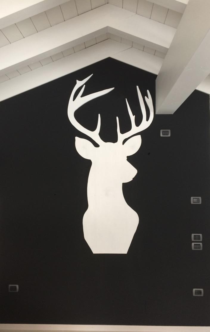 Cervo decorativo alto 210 cm
