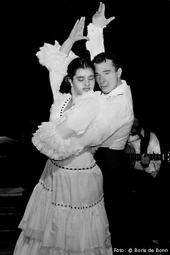 Flamenco-Tänzerin Rosa Martínez & Tänzer Juan Trigueros on stage