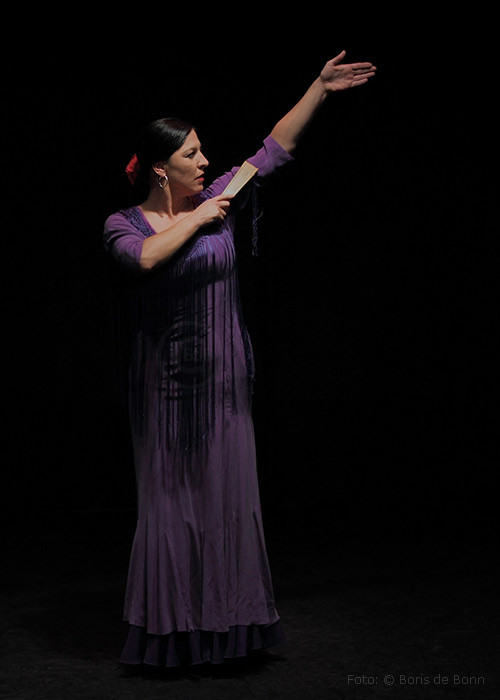 Flamenco-Tänzerin & -Dozentin Simi