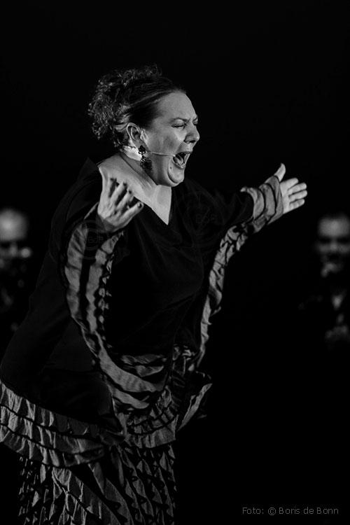 Cantaora Mari Vizárraga / © Boris de Bonn