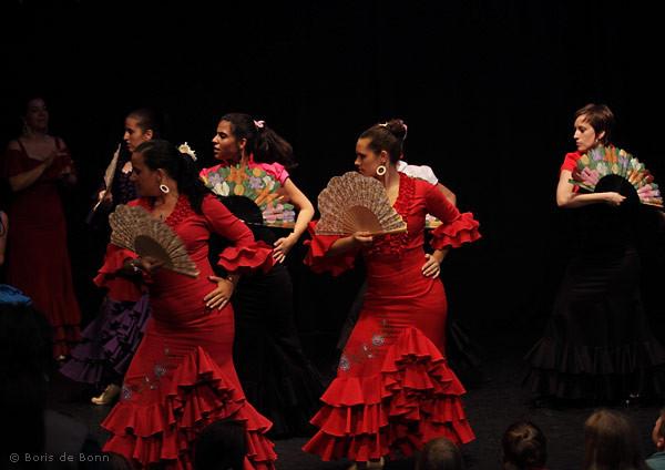 Flamencotanz Guajiras mit Abanico (Tanzfächer)