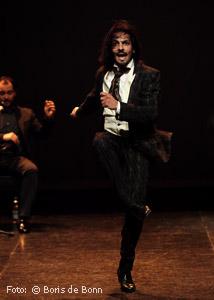 Flamencotänzer Farruquito (Juan Manuel Fernández Montoya ) 2016 im tanzhaus nrw/Color-Foto by Boris de Bonn