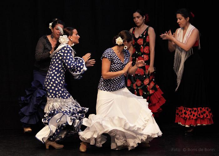 Flamencotanz Bulerías mit der Flamenco-Gruppe Ibérico