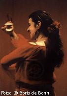Flamencotänzerin Rosa Martínez /Color-Foto by Boris de Bonn