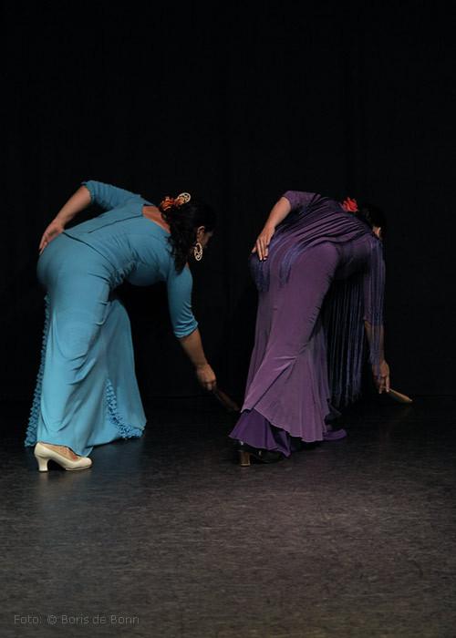 Flamenco-Tänzerinnen & -Dozentinnen Simi (r) & Rosa Martínez