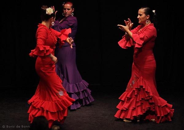 Flamencotanz Bulerías de Jerez.