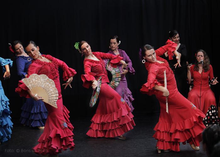Flamencotanz Guajira mit Abanico (Tanzfächer)