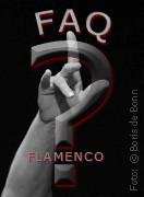Nach oben zeigende Hand einer Flamencotänzerin als Hintergrund für FAQ Flamenco/SW-Foto by Boris de Bonn
