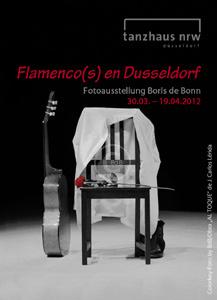 """Titelfoto zur Fotoausstellung """"Flamenco(s) en Dusseldorf"""" von Boris de Bonn in Düsseldorf; ein Flamenco-Stillleben/Colorkey-Foto by Boris de Bonn aus dem Bühnenstück """"Al toque"""" von J. Carlos Lérida"""