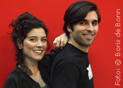 Flamencotänzerin Claudia Sanz (li) & Sänger Gabriel Cafranga/Color-Foto by Boris de Bonn