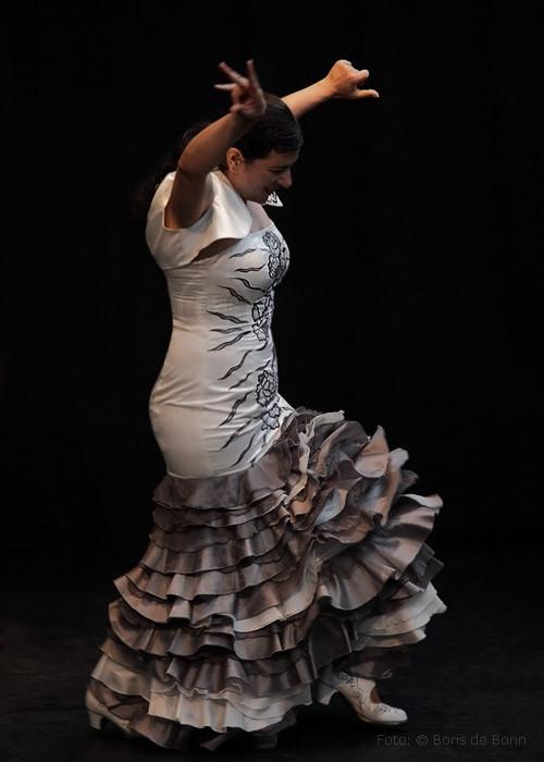 Flamenco-Tänzerin Rosa Martínez on stage