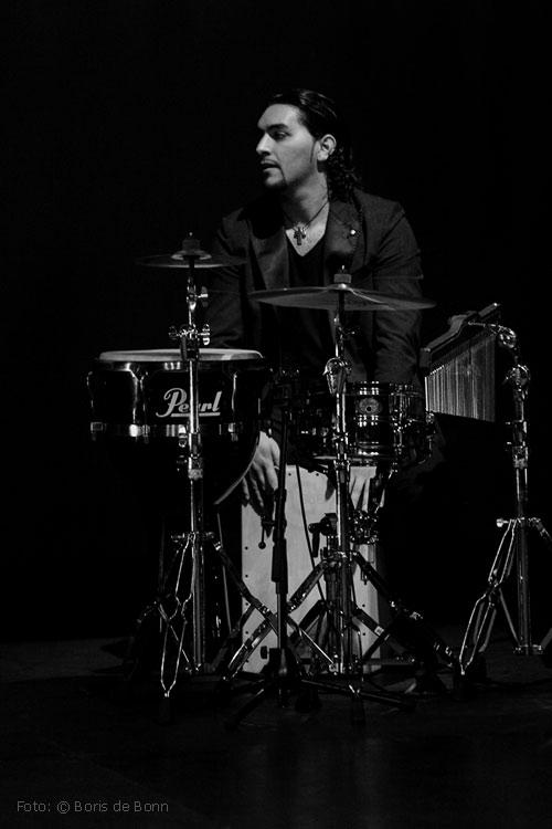 """Antonio Moreno """"El Polito"""" (Percusión) / SW-Foto by Boris de Bonn"""