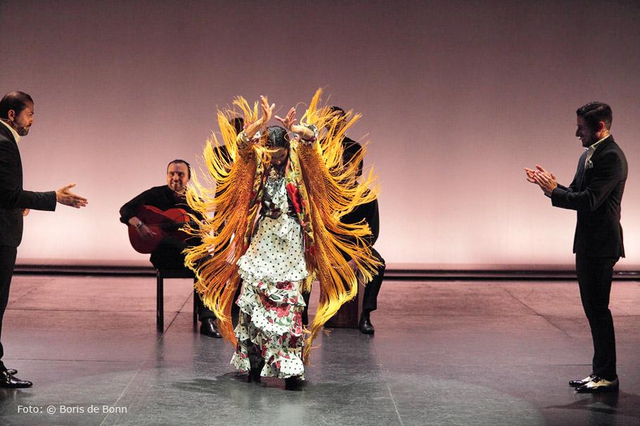 """Mercedes Ruíz en """"Déjame que te baile""""/Foto by Boris de Bonn"""