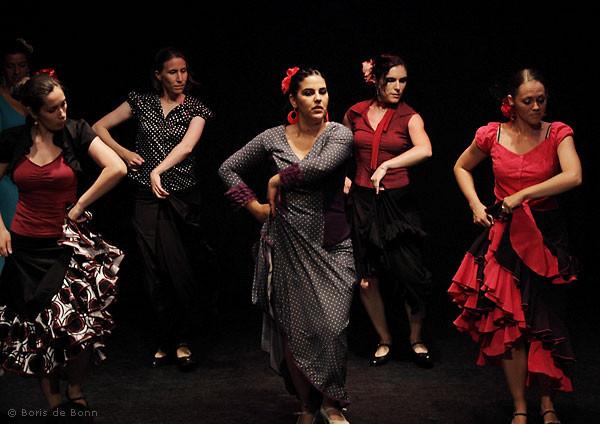 Flamencotanz Soleá por Bulería (Gitarre: Franco Carmine)
