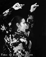 Flamencotänzerin, Choreografin, Flamenco-Dozentin Rosa Martínez/SW-Foto by Boris de Bonn