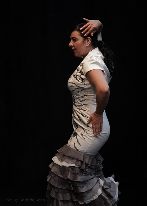Flamenco-Tänzerin Rosa Martínez / Color-Foto by Boris de Bonn