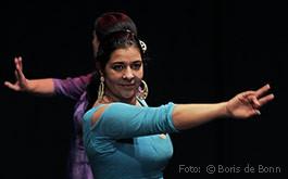 Flamencotänzerin & Dozentin für Flamencotanz Rosa Martínez/Color-Foto by Boris de Bonn