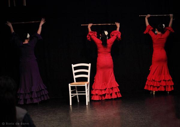Flamencotanz Soleá por Bulería mit Bastón (Flamenco & Folkloregruppe Ibérico)
