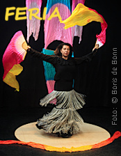"Titelfoto zur Flamenco-Aufführung ""GRANADA"" im Tanzstudio La Fragua am 15.12.18/Color-Foto by Boris de Bonn"