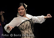 Flamencotänzerin Rosa Martínez/Color-Foto by Boris de Bonn